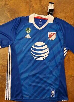 d1d5728ae20 NEW with tags Adidas MLS 2016 All Star Soccer Jersey Adult XL Ober  16