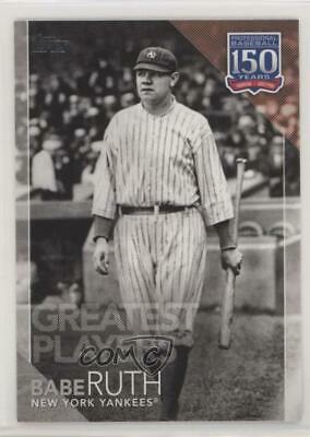 2019 Topps 150 Years of Professional Baseball #150-51 Greatest Players Babe Ruth
