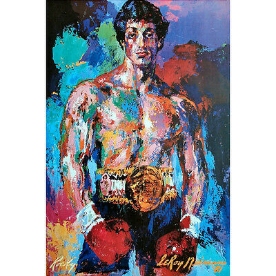 "Rocky Balboa Motivational Movie Art Silk Poster 13x20 24x36"" Sylvester Stallone"