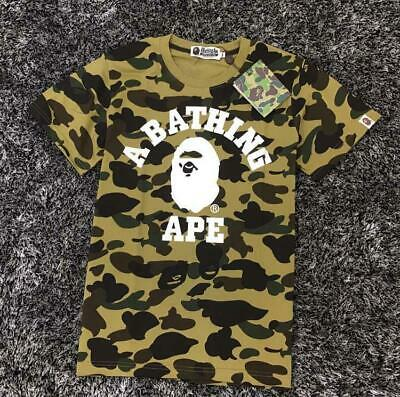 80074f019 2018 Unisex Bape Ape Head Icon Fake Zipper Classic A bathing Ape Summer T- Shirt