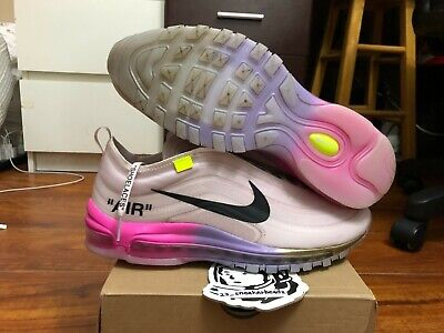 7c487c5541d2 Nike Air Max 97 OFF-WHITE Serena Williams AJ4585 600 size 10 100% authentic