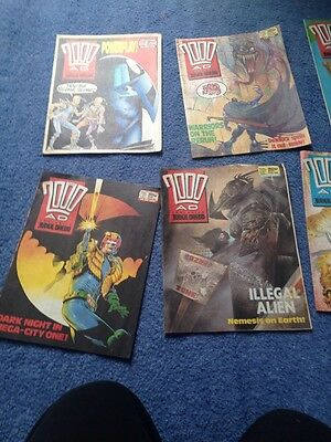 2000ad Issues 580-589