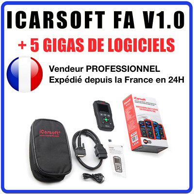 Interface Diagnostic iCarsoft FA V1.0 - Diagnostic PRO tous systèmes Fiat - Alfa