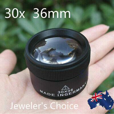 Optical Magnifier Magnifying Glass Lens Loupe Microscope Watch Jewelry 30x36mm