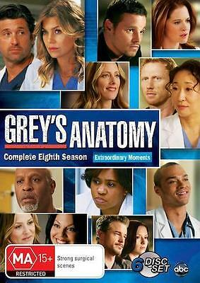 GREY'S ANATOMY Season 8 : NEW DVD