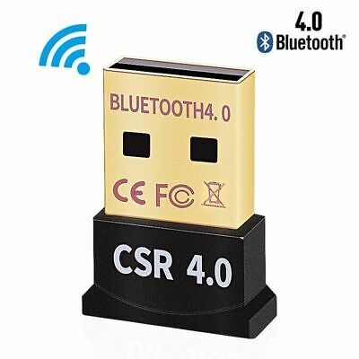Mini Wireless Bluetooth USB Adapter V4.0 CSR Dual Mode Dongle Transmitter for PC