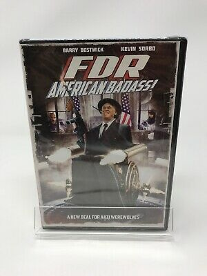 FDR: American Badass (DVD, 2012) Barry Bostwick, William R. Mapother New
