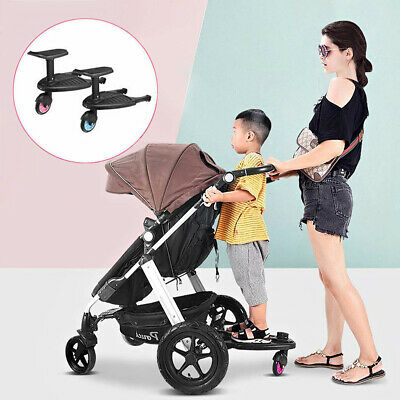 Stroller Board Universal Comfort Wheeled Pushchair Auxiliary Pedal from 3 Years+