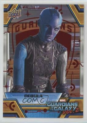 2017 Upper Deck Guardians of the Galaxy Volume 2 Red 20/49 Nebula Characters 0ad
