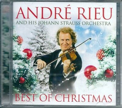 André Rieu. Best of Christmas (2014) CD+DVD NUOVO Jingle Bells. White Christmas