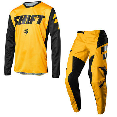Shift White label Youth Pant Jersey Combo  Package WHIT3 New 2018 Yellow S18YW5