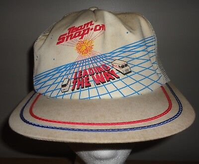 Vintage SNAP ON TOOLS LEADING THE WAY Mesh Snapback Trucker Hat K PRODUCTS BRAND