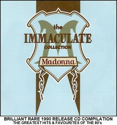 Madonna - The Very Best Essential Greatest Hits Collection - 80's Pop CD