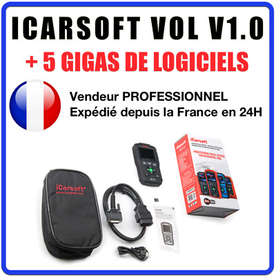 ✅ VALISE DIAGNOSTIC ICARSOFT VOL V1.0 - Compatible Volvo & Saab - Français