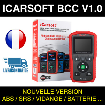 Valise Diagnostic Auto Pro iCarsoft BCC V1.0 GM JEEP CHRYSLER - AUTOCOM DELPHI