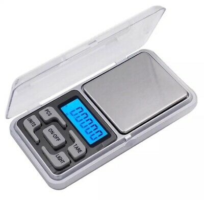 Pocket Digital Scales Jewellery Gold Weighing Mini LCD Electronic 0.01g 200g