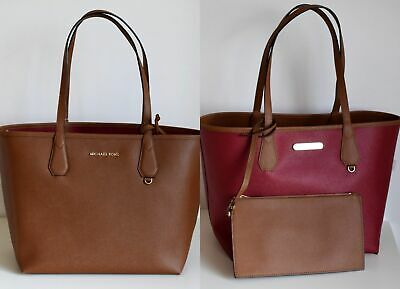 49295a5dc5e5 MICHAEL KORS Damen Tasche CANDY LG REVERSIBLE TOTE 2 in 1 luggage/cherry