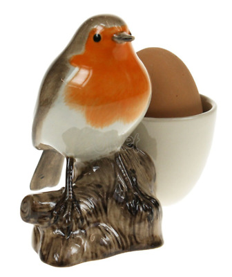 Quail Ceramics - Robin with Egg Cup