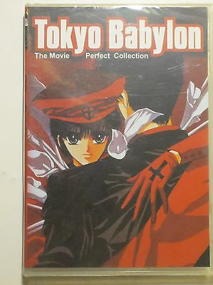Tokyo Babylon Movie Complete Collection OVA Vol 1&2 Anime DVD Clamp X US Manga