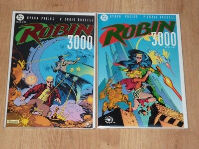 Robin 3000 #1 to #2 - DC 1992 - VFN/NM to NM- - Complete Set