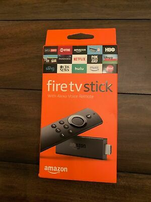 Brand New ~ SEALED Amazon Fire TV Stick with Alexa Voice Remote (2nd Generation)