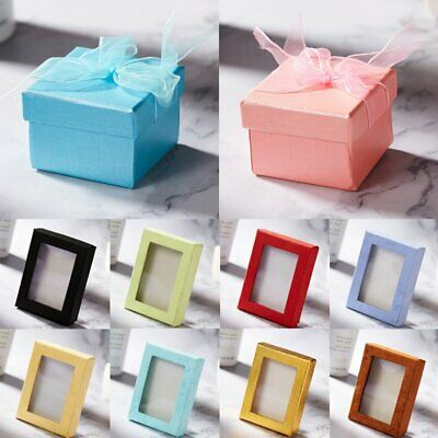 Wholesale Earring Ring Pendant Jewelry Box Display Case Engagement Wedding Gift