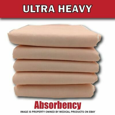 100 Disposable Incontinence Underpads for Bed 23x30 Bulk Quilted Thick Pee Pads