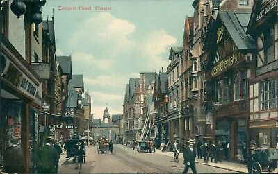 Chester eastgate street; boots; 1915