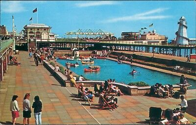 Brighton Boating lake and west pier