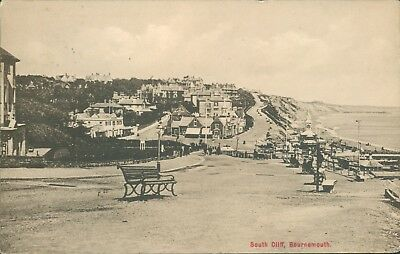 Bournemouth; south cliff; 1913; bright's stores