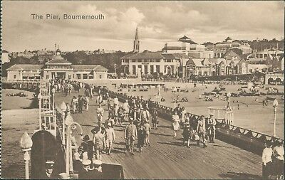 Bournemouth; the pier