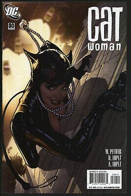 Catwoman 80. Eye-Catching Adam Hughes Cover