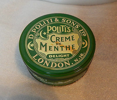 D Pollit and sons Creme De Month deluxe Tin 11cm diameter