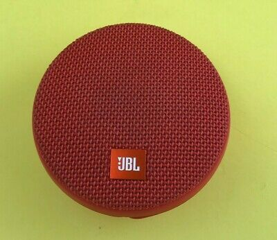 DEFECTIVE  JBL Clip 2 Waterproof Portable Bluetooth Speaker by Harman Red #G6l3