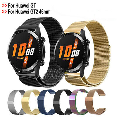 AU For Huawei Watch GT Replacement Strap Magnetic Milanese Watch Wrist Band 22mm