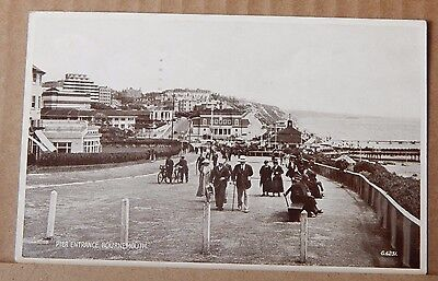 Postcard Pier Entrance Bournemouth posted 1939