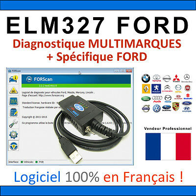 Interface Elm327 Altered - Koffer Diagnostisch Mehrmarken & Ford Elm 327
