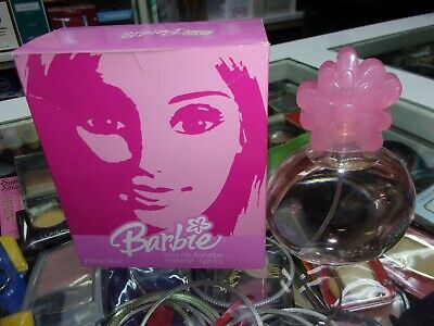 BARBIE EDT spray 75ml raro di 2004 Spagna Antonio Puig