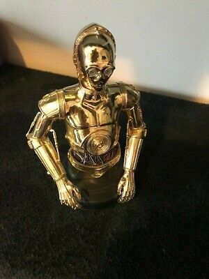 Star Wars Gentle Giant mini bust gold-plated C-3PO #257