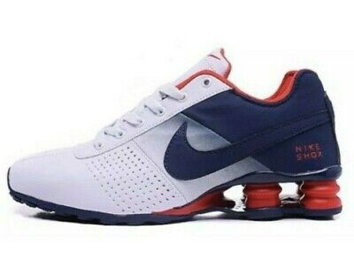 7ee74dc4d7 NIKE SHOX DELIVER Blue   White Athletic Shoes Various Sizes ...