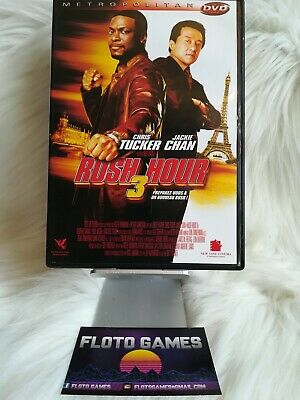 DVD ZONE 2 FR : Rush Hour 3 - Jackie Chan - Chris Tucker - Action - Floto Games