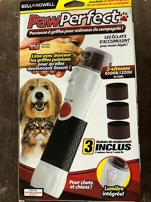 Bell + Howell Paw Perfect Pet Nail Rotating Trimmer - As Seen On TV, PawPerfect!