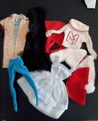 Vintage Barbie 1960s clothing lot - TLC - 8 items
