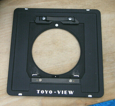 genuine Toyo monorail to Linhof style 5x4 10 x 8 lens board  adapter