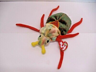 d1b22c01ee7 Ty Beanie Baby SCURRY The Beetle MWMT Retired