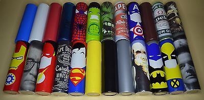 18650 Batterie Wraps Akku-Hülle Super Hero Star Wars Game of Thrones Spartacus