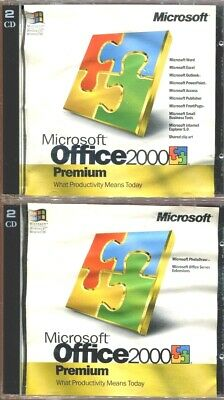 MICROSOFT OFFICE 2000 Premium & Professional Edition Product
