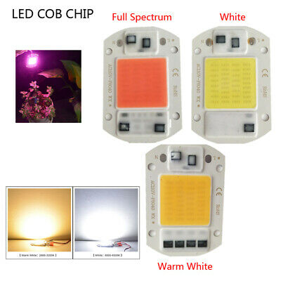 20W/30W/50W Smart IC COB  LED Chips AC220V Warm White for Grow Lamps Spotlights