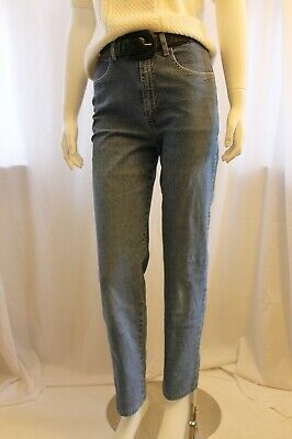 French Dressing - 1980's style high waist  jean -light wash - size 6