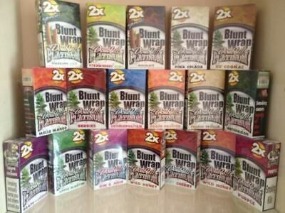 Juicy Jay Blunt Wrap Double - Flavoured - 2 Per Pack - Rolling Papers